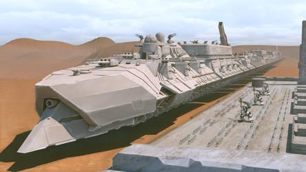 Tsviet War Train embarking