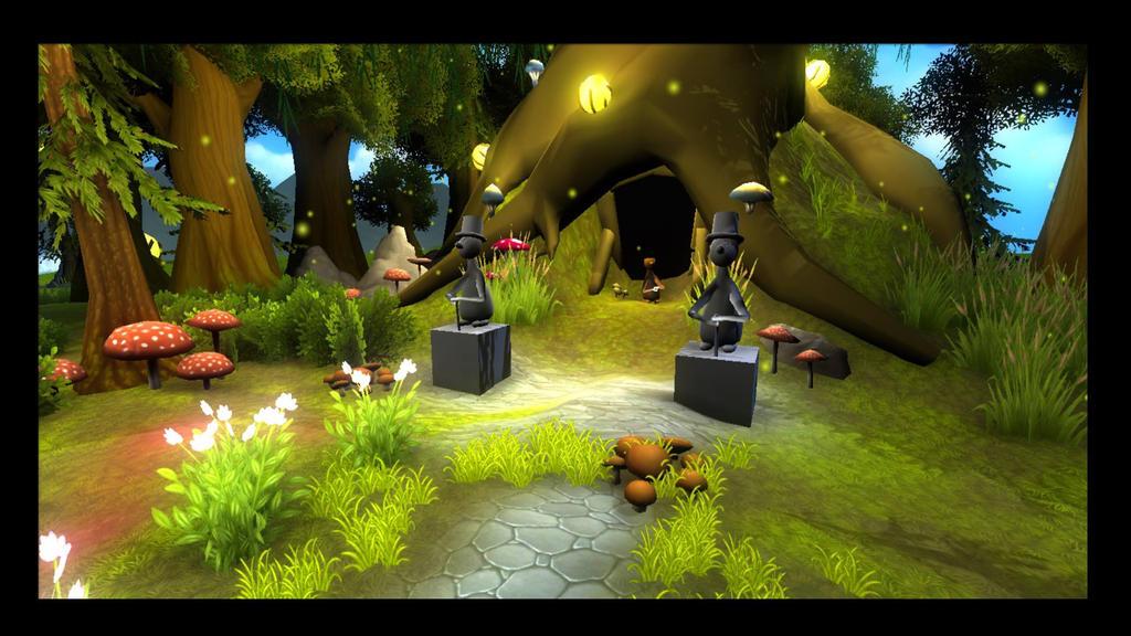 Cartoon Game The Big Tree Scene In Unity by DosBrosStudios