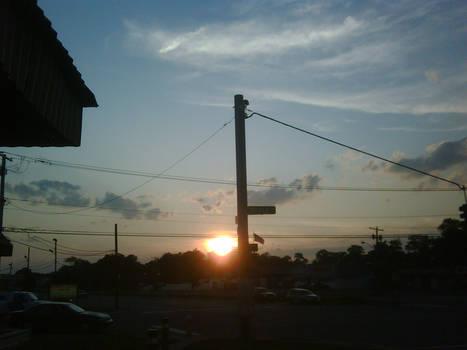 Sunset at Bayview Street
