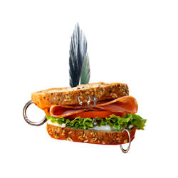 Punkwich by TrinaryOuroboros
