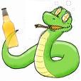 Drunken Python by TrinaryOuroboros