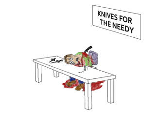 Knives for The Needy