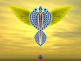 Angel by TrinaryOuroboros