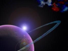 1600x1200 Outer Galactic Arm by TrinaryOuroboros
