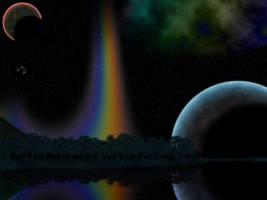 1600x1200 Lythentreia at Night by TrinaryOuroboros