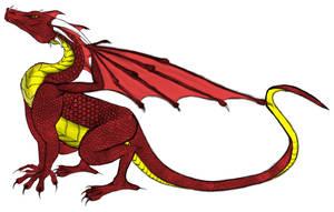 dragon in progress by TrinaryOuroboros
