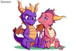 Spyro Fanart - Spyro and Ember