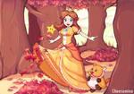 Mario Fanart - Daisy in Maple Treeway