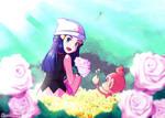Pokemon Fanart - Dawn and Chimchar