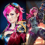 Vi Cosplay- League of legends