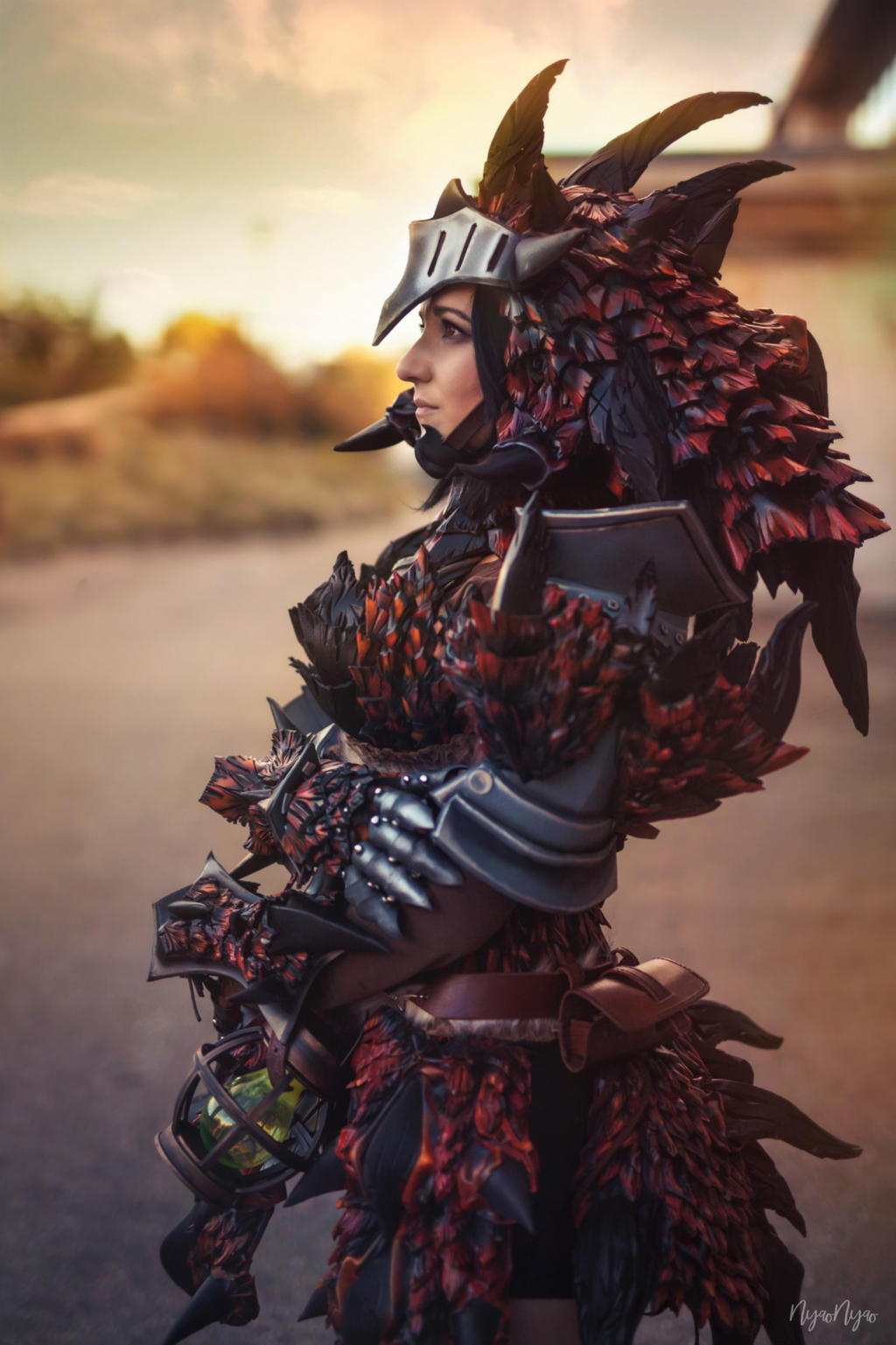 Rathalos Armor Monster Hunter World By Ellothin On Deviantart