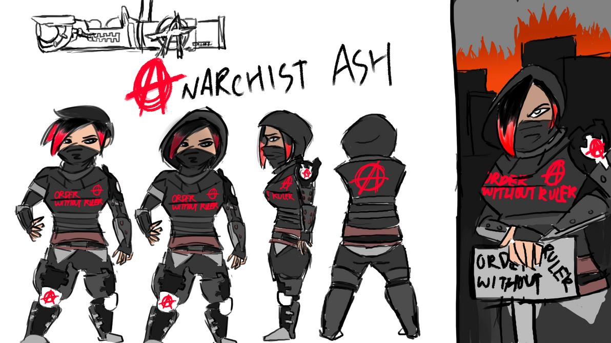 Anarchist Ash by Kaxology