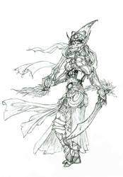 Elven Princess by doggerman
