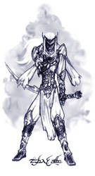 Dark Elf Swordman