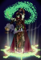 Gypsy Sorceress -- Color