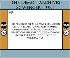 The Demon Archives Scavenger Hunt - Card #8