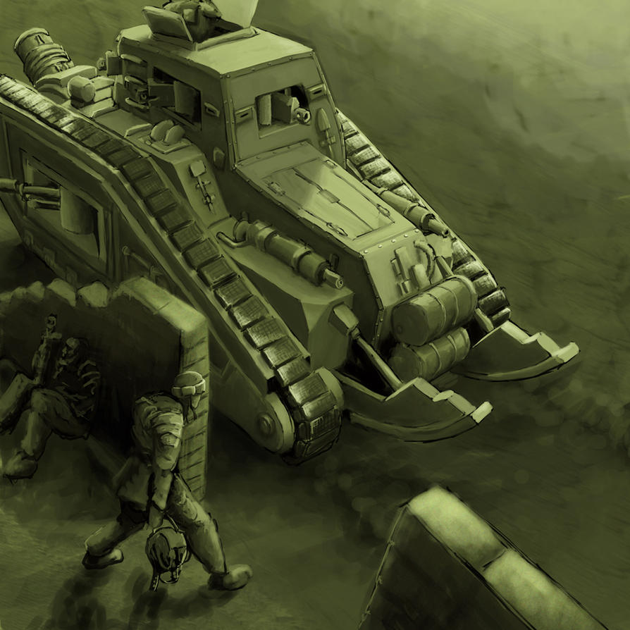 Wh40K: Tank Hunter B by StugMeister