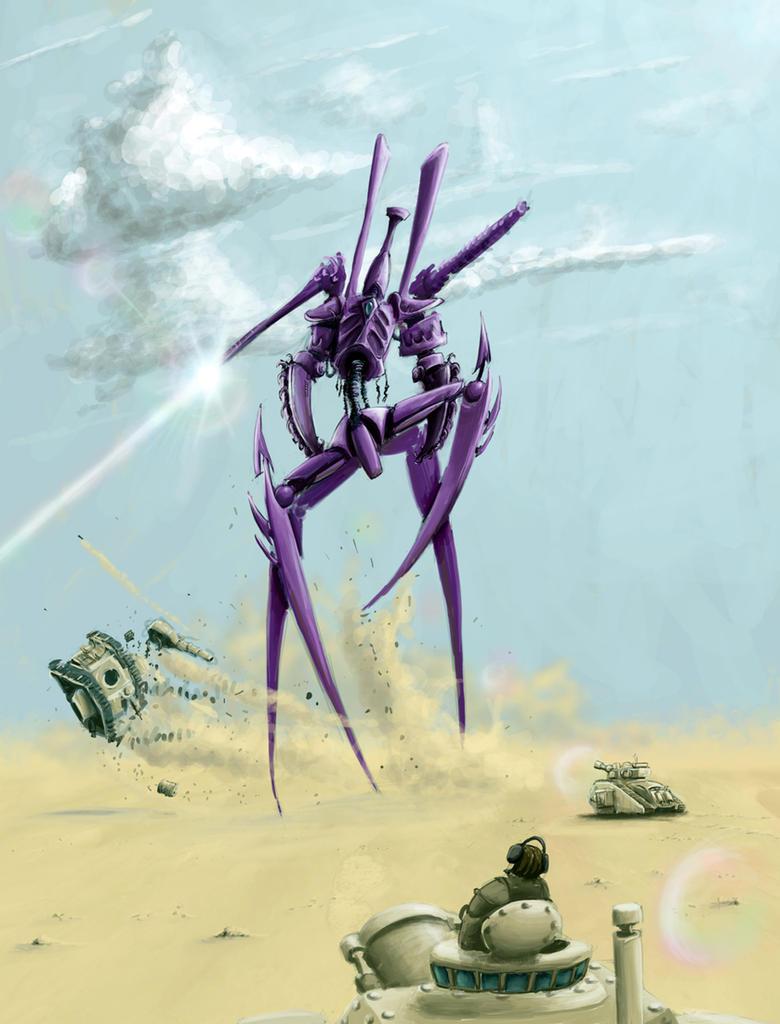 Dark Eldar WraithKnight Equvilant? - Page 4 Wh40K__DarkEldar_Tormentor_by_StugMeister
