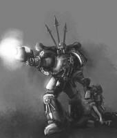 Speed Paint - Black Legion by StugMeister