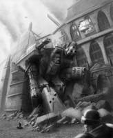 Wh40K: Fallen Giant by StugMeister