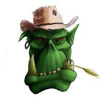 Angry Farmer Ork by StugMeister