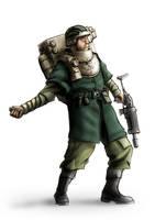 Wh40K: Cthonol Guardsman by StugMeister