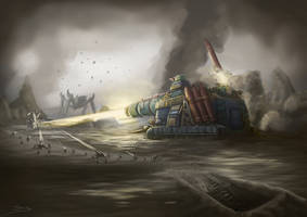 Wh40K: Cyclops by StugMeister