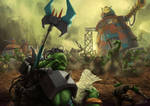Wh40K: Orks and Their Animosity