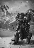 Wh40K: Rune Priest by StugMeister