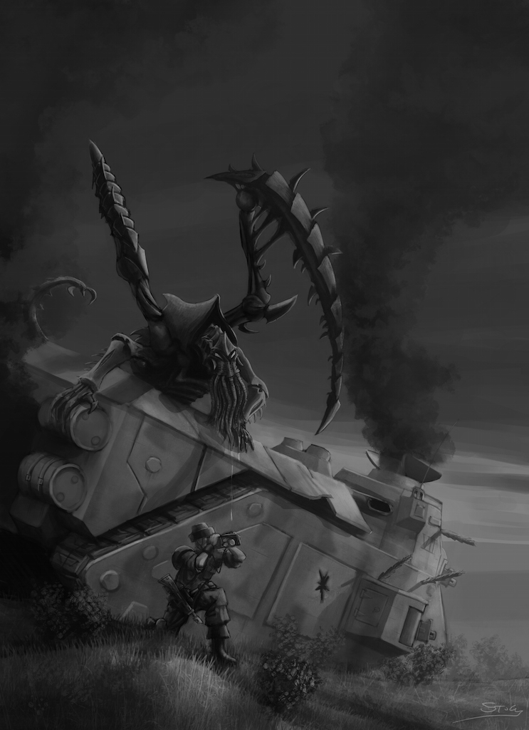 Wh40K: Lictor on the Hunt by StugMeister