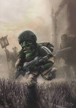 Wh40K: Soldier Grot