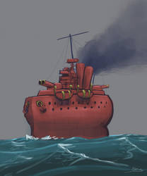 Dreads: Warship 1