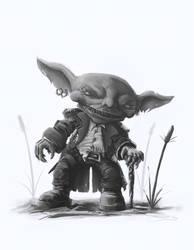 Pathfinder: Goblin Adventurer
