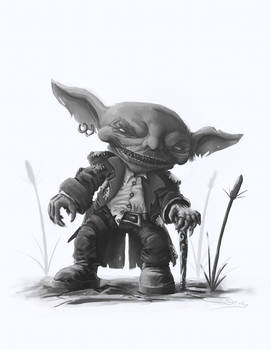 Pathfinder: Goblin Adventurer