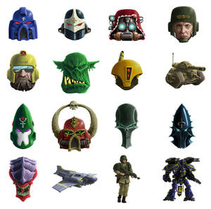 miniwars.co.uk Icons Collage