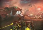 Wh40K: Blood Angels Terminator Assault by StugMeister