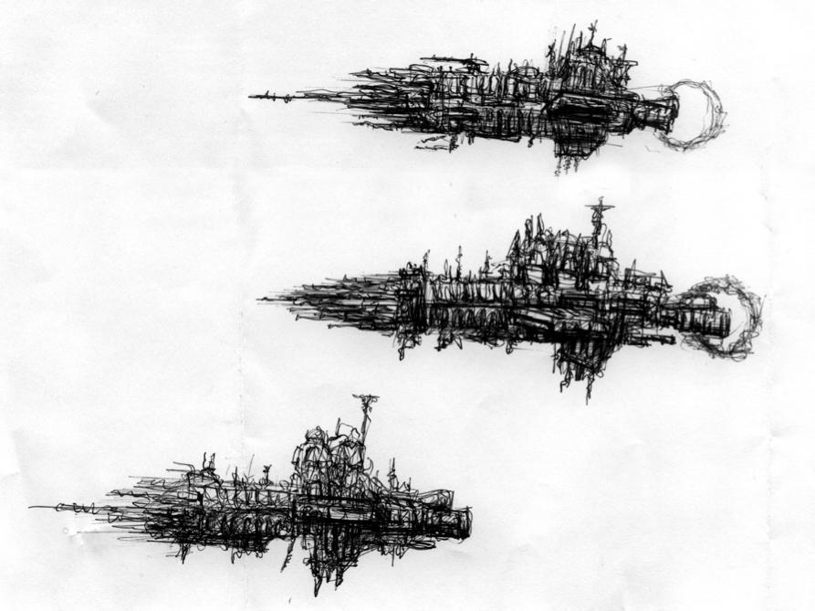 BFG Ships by StugMeister