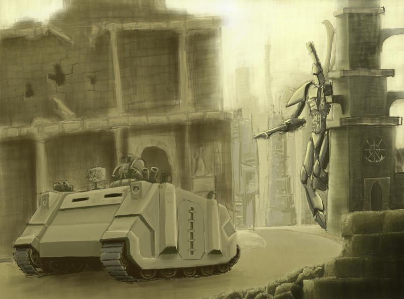 Wh40K: Tank Hunter by StugMeister