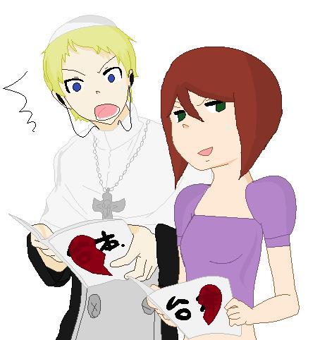 Soul Eater: Koyko and Justin by xScarletSecrets