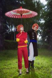Kagura and Kamui (a little photoshoot) 3 by Vesta777