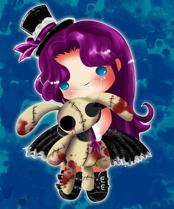 cute and dark by luzhikaru