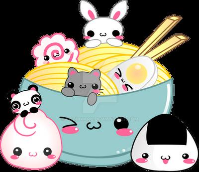 kawaii party by luzhikaru