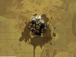 Marques Colston by DarkBeforeDawn