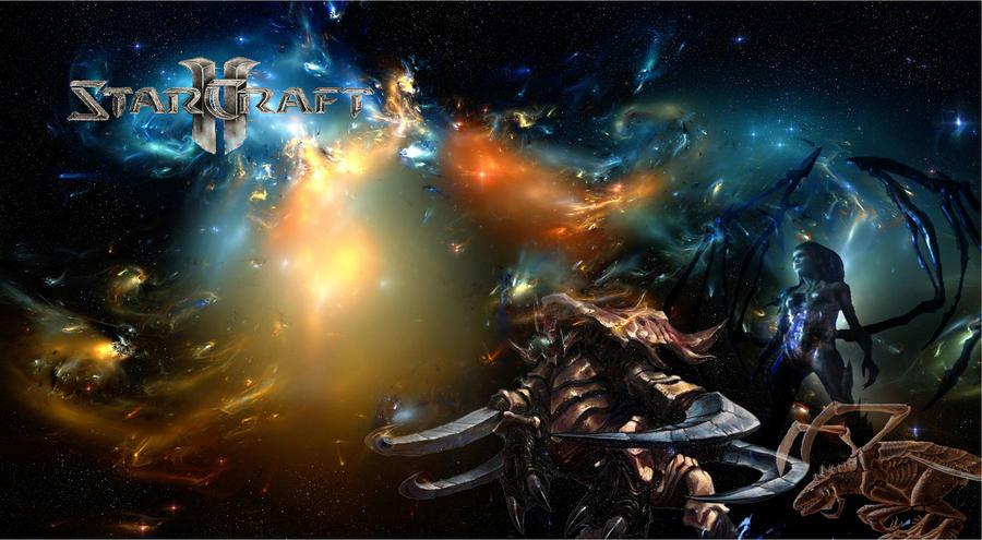 StarCraft II Zerg Wallpaper by SwagStealer on DeviantArt