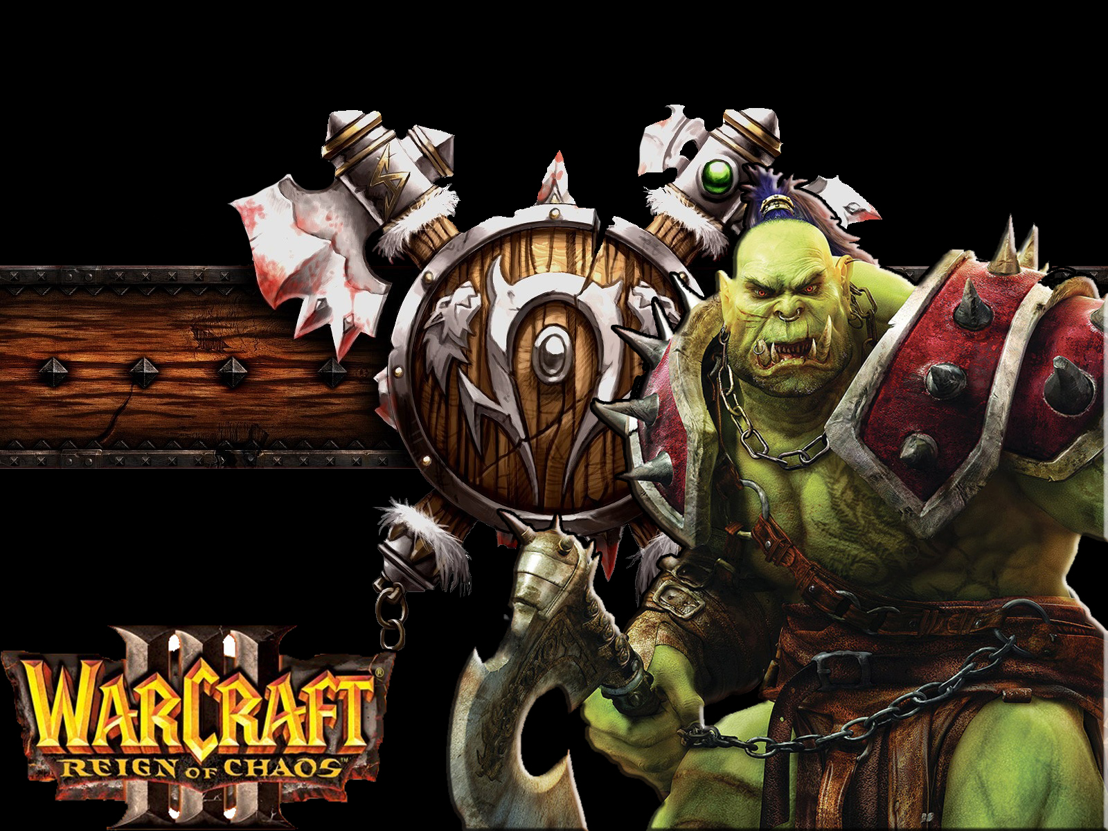 Warcraft Iii Orc Wallpaper By Swagstealer On Deviantart