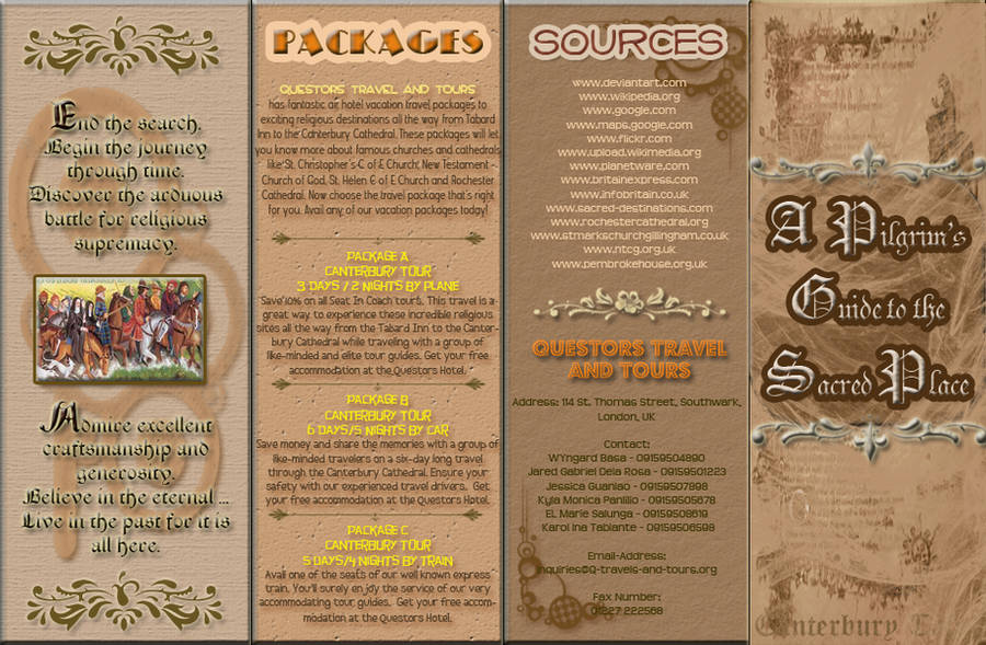 Travel Brochure by MusinX
