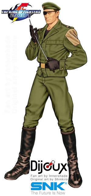 Shinkiro Style KOF 2001 Heidern