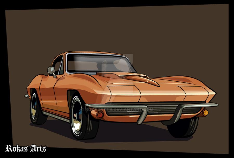 GTA Corvette by RokasArts
