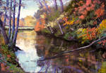 autumn in  Normandy 1 (soft pastel)