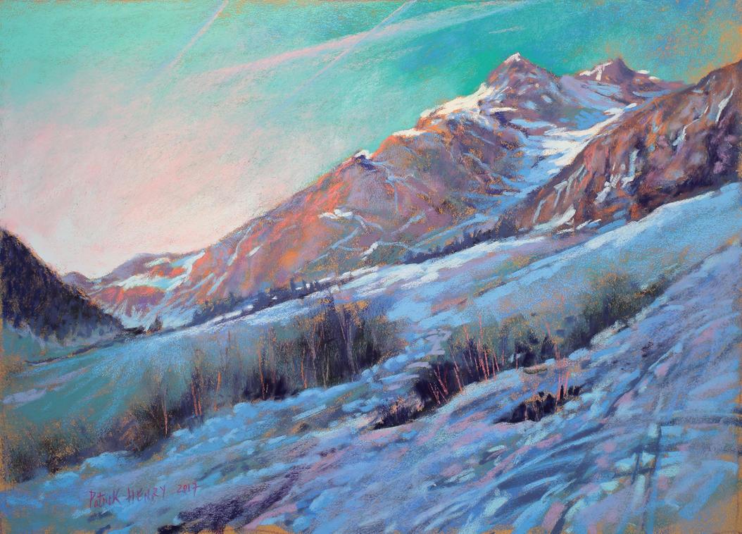 Neige en Vanoise (snow in French Alpes) by PatrickHENRY